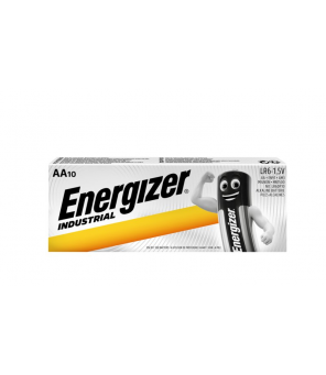 Energizer Industrial AA LR06 baterijos 10vnt