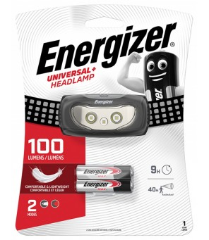 Energizer universalus + 100lm žibintuvėlis