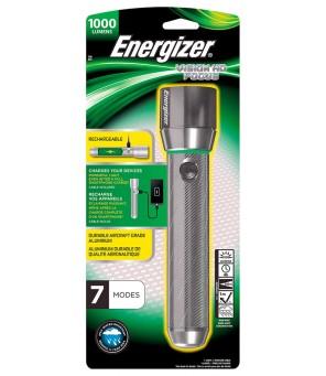 Energizer VISION HD METAL 1000lm įkraunamas žibintuvėlis