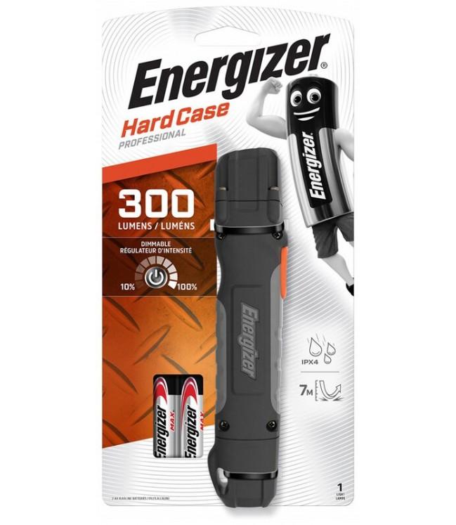 Energizer žibintuvėlis Hardcase 300lm, tvirto korpuso