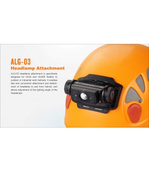 Fenix ALG-03 žibintuvėlio ant galvos laikiklis šalmui