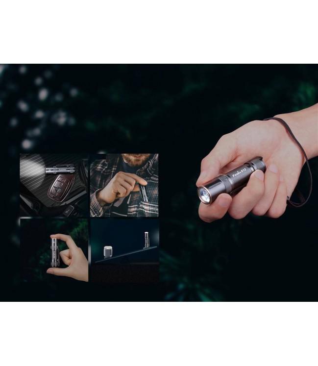 Fenix E12 V2.0 kišeninis žibintuvėlis