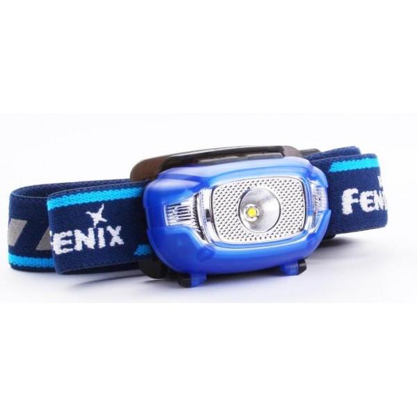 FENIX HL15 žibintuvėlis bėgimui, mėlynas