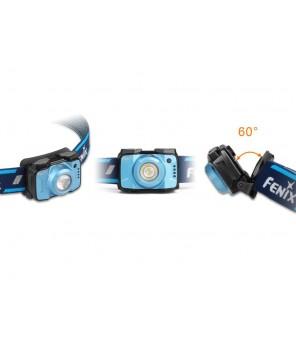Fenix HL12R kraunamas žibintuvėlis ant galvos, mėlynas