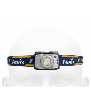 Fenix HL12R kraunamas žibintuvėlis ant galvos, pilkas