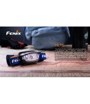 FENIX HL15 žibintuvėlis bėgimui