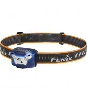 FENIX HL18R, lengvas bėgimo žibintuvėlis, mėlynas