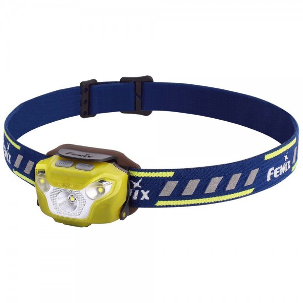 FENIX HL26R žibintuvėlis bėgimui, geltonas
