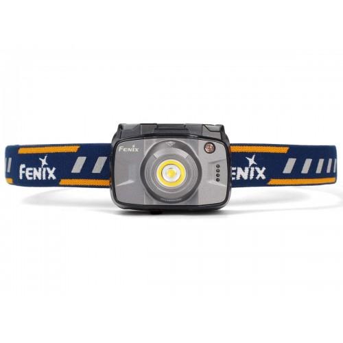 Fenix HL32R pakraunamas žibintuvėlis ant galvos, pilkas