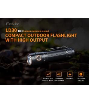 Fenix LD30 EDC žibintuvėlis su baterija