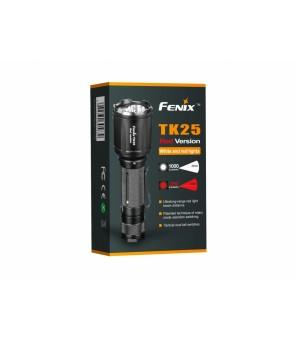 Fenix TK25 RED žibintuvėlis