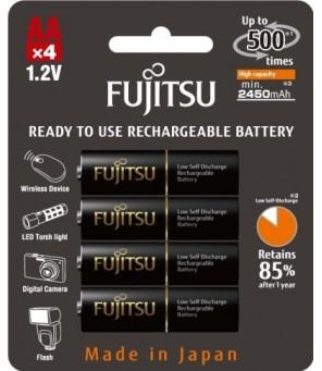 Fujitsu PRO AA pakraunamos baterijos 2550 mAh, 4vnt