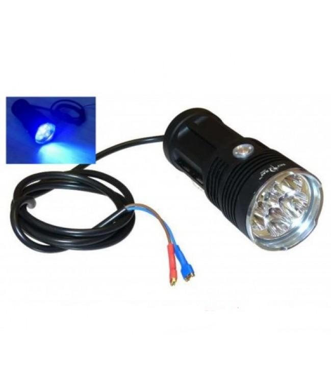 Galingas ultravioletinis prožektorius 18W
