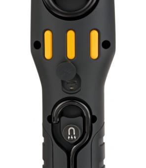 Įkraunamas Brennenstuhl daugiafunkcinis šviestuvas / inspektavimo šviestuvas su stipriais magnetais ir kabliu