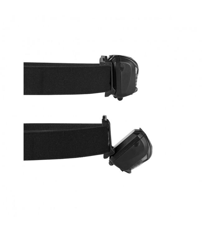 Įkraunamas galvos žibintuvėlis su judesio jutikliu VA0020