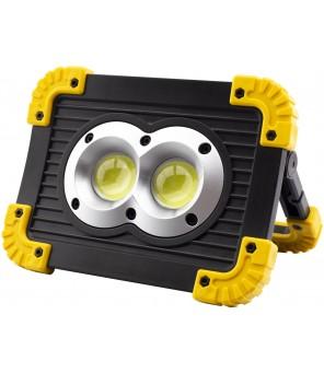 Įkraunamas prožektorius ENTAC 6W+1W Worklight 240lm
