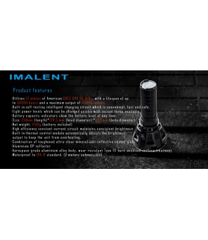 IMALENT MS12 LED prožektorius