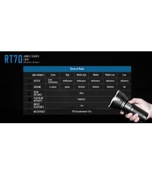 Imalent RT70 pakraunamas prožektorius