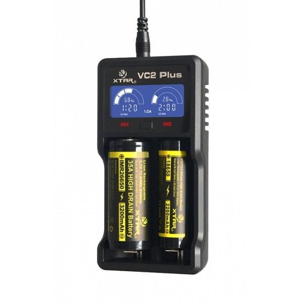 Pakraunamų baterijų kroviklis XTAR VC2 Master Plus