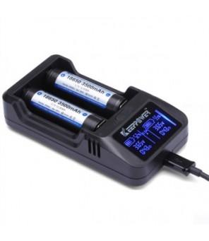 KeepPower L2 Plus ličio baterijų įkroviklis