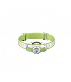LED Lenser MH3 žibintuvėlis, žalias