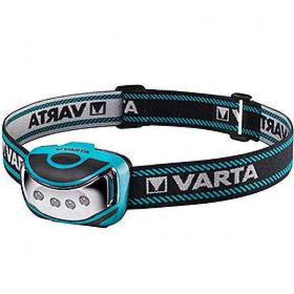 LED žibintas ant galvos Outdoor Sports 4x LED Varta