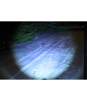 LED žibintuvėlis 3W su ZOOM funkcija