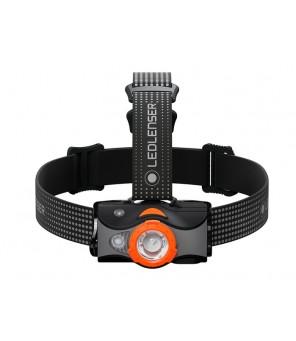 LED Lenser MH7 žibintuvėlis, juodai-oranžinis