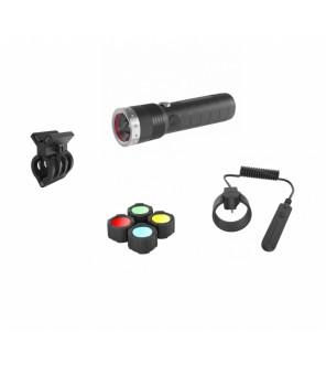 Ledlenser MT14 LED žibintuvėlio komplektas medžiotojams
