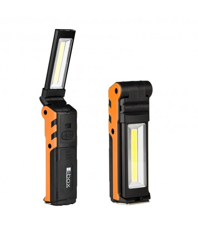 LIBOX įkraunamas LED dirbtuvių žibintas