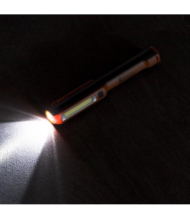 LIBOX įkraunamas LED dirbtuvių žibintuvėlis
