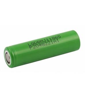 Ličio jonų pakraunama 18650 baterija LG MJ1 3500mAh