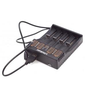 LiitoKala Lii-402 baterijų įkroviklis