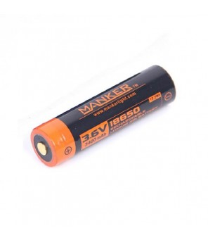 Baterija Manker 18650 2600mAh