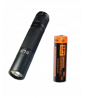 Manker BLF A6 1600 Lumen CREE XP-L LED žibintuvėlis su 18650 baterija