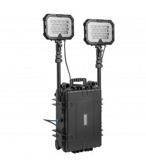 Mobili apšvietimo sistema TWIN 36000lm