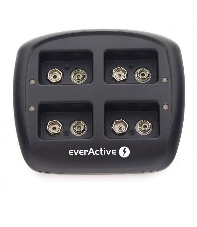 Kronų pakrovėjas everActive NC109 automatinis 4 x 9V