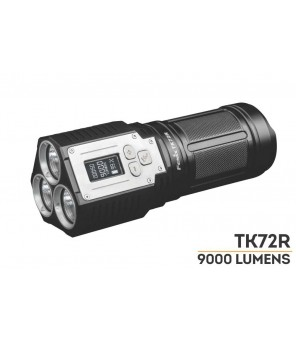 Fenix TK72R pakraunamas LED prožektorius
