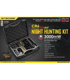 Nitecore CR6 Chameleon žibintuvėlis medžioklinis rinkinys