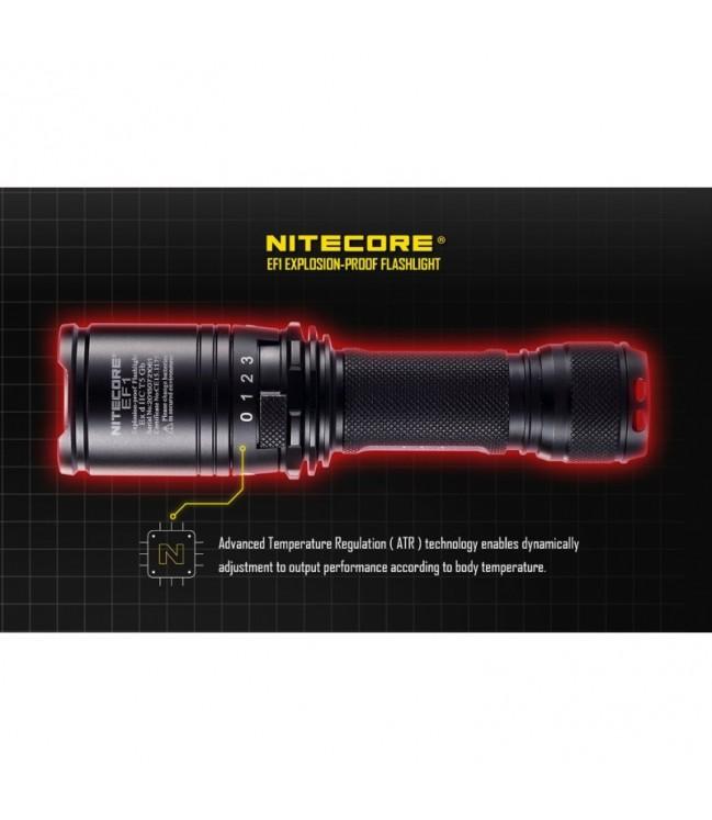 Nitecore EF1 žibintuvėlis