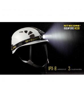 Nitecore HC30 žibintuvėlis ant galvos