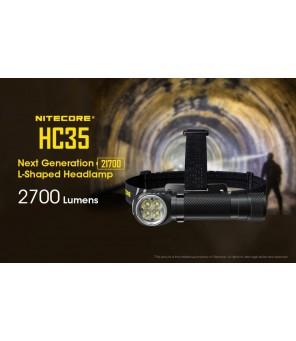 Nitecore HC35 įkraunamas žibintuvėlis 2700lm