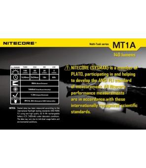 Nitecore MT1A žibintuvėlis