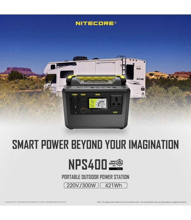 Nitecore NPS400 Power Station elektrinė - 117000mAh