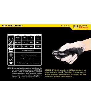 Nitecore P12 žibintuvėlis