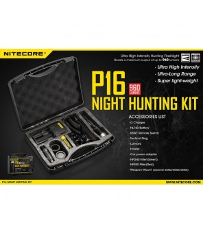 Nitecore P16 Hunting Kit rinkinys medžioklei