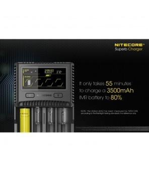 Nitecore SC4 įkroviklis