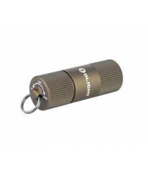 Olight I1R 2 EOS Desert Tan, įkraunamas žibintuvėlis su USB laidu