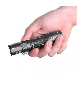 Olight M2R Pro Warrior įkraunamas LED žibintuvėlis (Limited Edition Gun Metal versija)