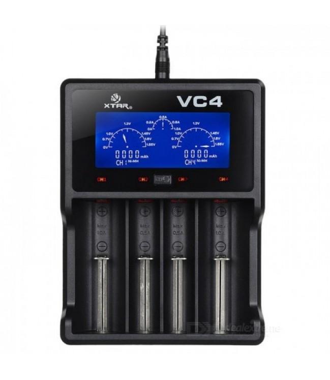 XTAR VC4 baterijų pakrovėjas